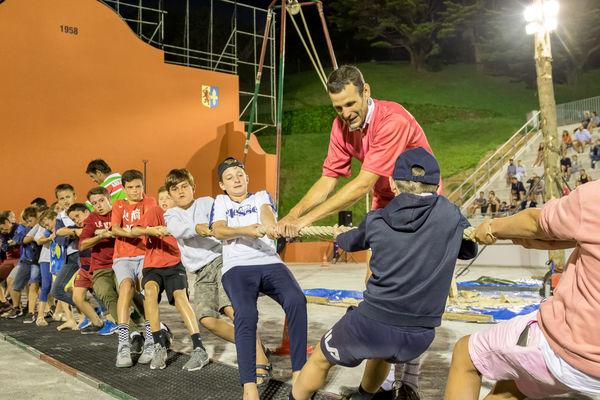 Gala de force basque - Tir à la corde