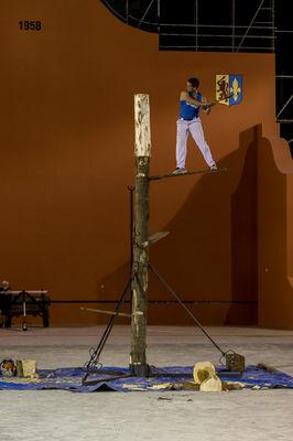 Gala de force basque - Coupeur de tronc