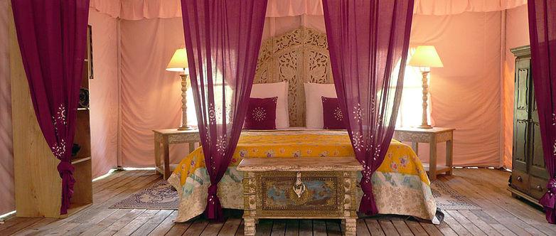 CASTETS - Palika Lodge - lodge rose chambre