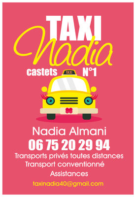 CASTETS_Taxi Nadia Encart Pub
