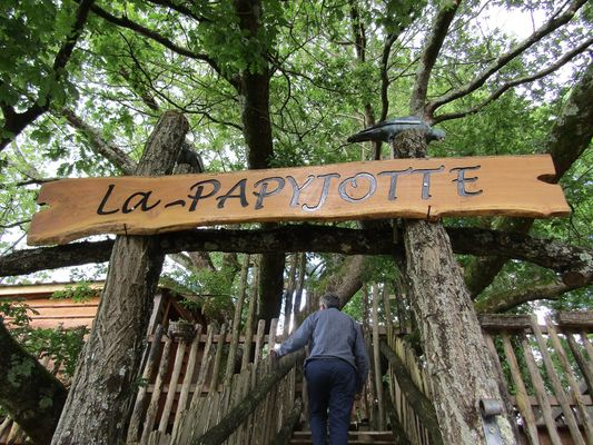 Cabane Papyjotte - bienvenue