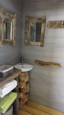 Cabane Papyjotte - salle de bain