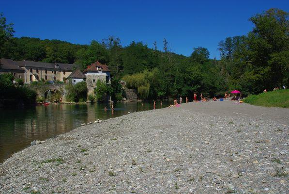 Camping Pyrénées passion - Plage  (BRUNET Stéphane)