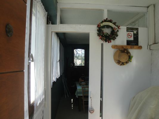 Chalet Delugat - Sas d'entrée