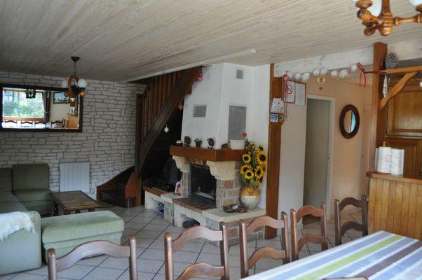 Chalet Delugat - Pièce principale 10 personnes