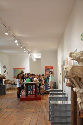Musée d'art et d'histoire du Cap de Gascogne, visite