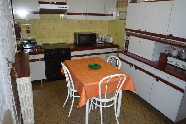 Domenger La Roseraie - cuisine