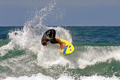Ecole de surf Max respect