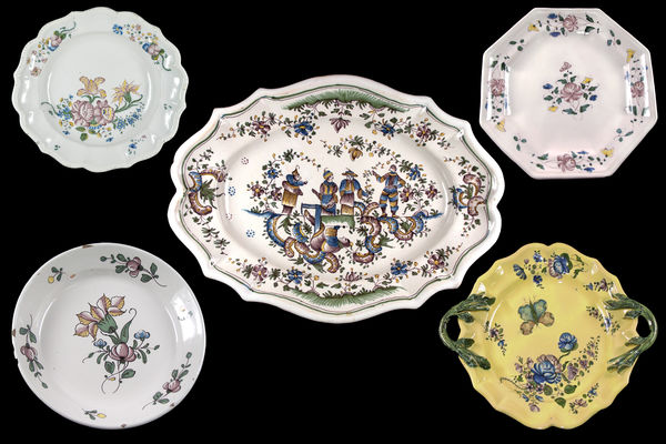 Fa+»ences Samadet 1732 -1832