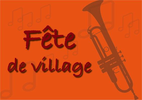 Fête de village orange