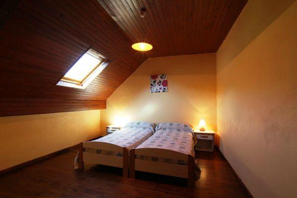 Gîte Bourdet - Chambre lits simples