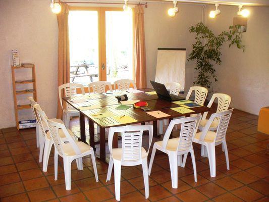 Gite La Grange - Salle-de-reunion