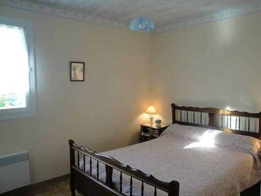 Gîte Lafon - Chambre lit double