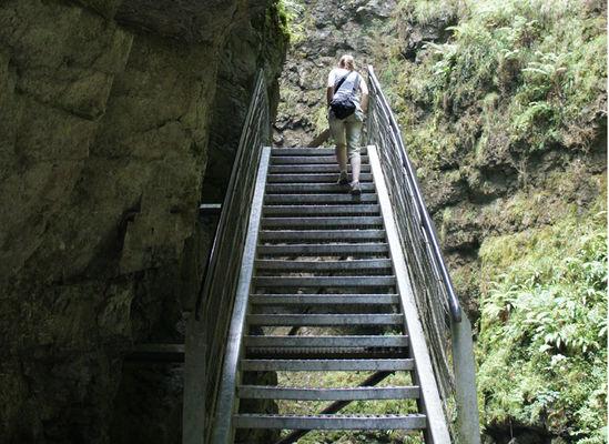 Gorges de kakuetta_escalier_Sainte Engrâce