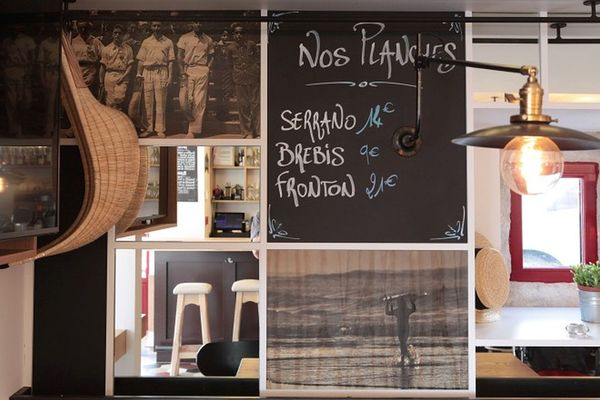 Hôtel du Fronton - Bar - Bidart Côte Basque - Place (14)
