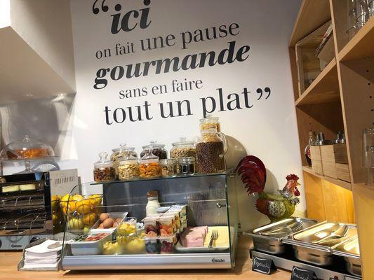 FastHôtel - Petit déjeuner