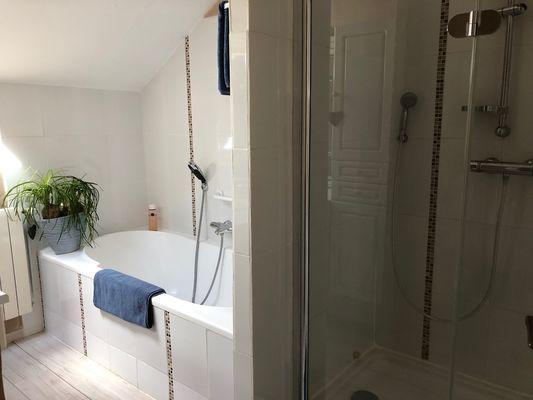 CASTETS_Au Clair des Landes_Suite des Pins_Salle de bain