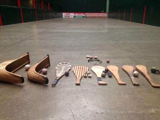 Spécialités pelote basque