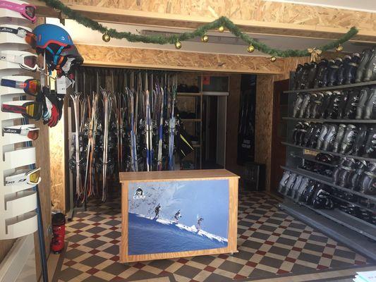 Location de skis et chaussures