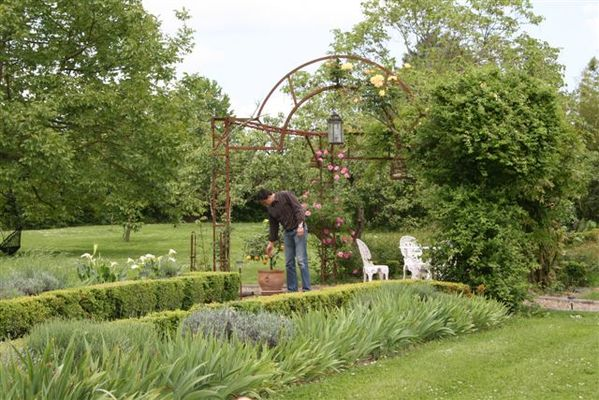 La Roseraie jardin