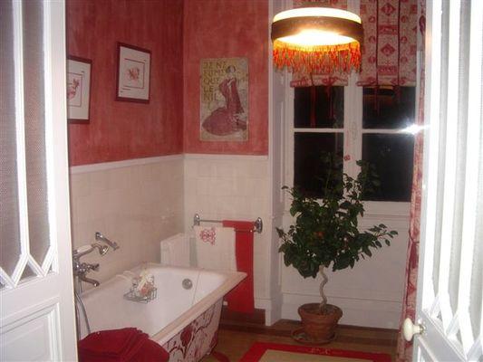 La Roseraie salle de bain
