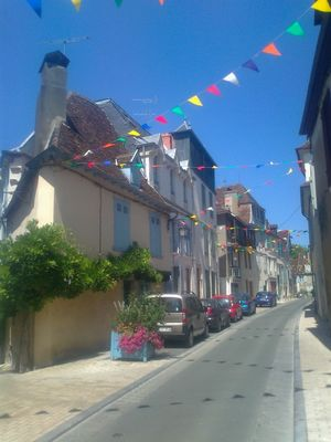 Lalanne rue de Salies de Béarn