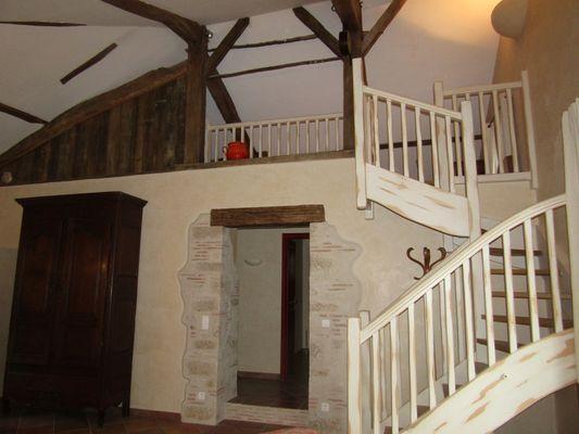 Lambert - accès à l'étage