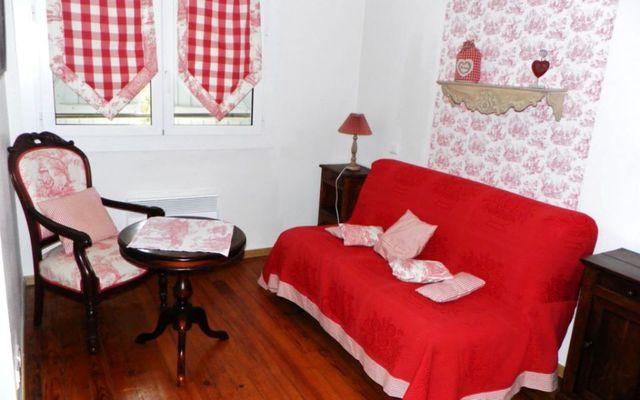 Le Clos Pité - chambre salon suite
