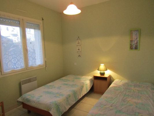 Lestage vert - chambre 2lits 1pers