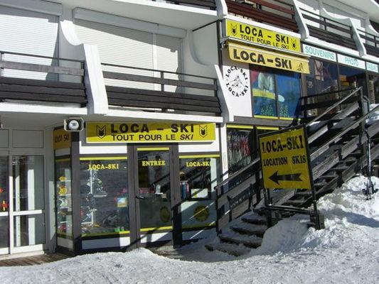 Loca ski - Vitrine