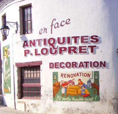 Loupret antiquités, atelier restaurations
