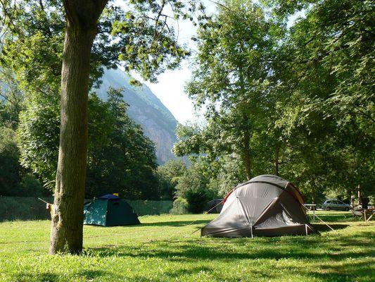 Camping du gave d'Aspe Urdos