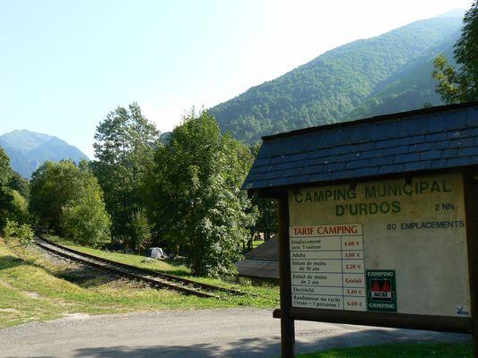 Camping du Gave d'Aspe