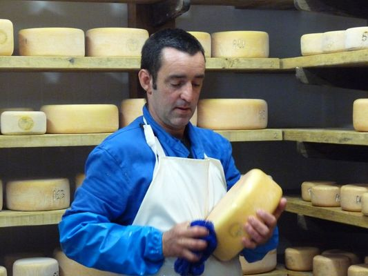 Nettoyage des fromages