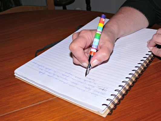 Atelier écriture Salies
