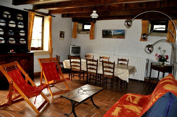 Pussacq Pigeonnier - Salle de séjour