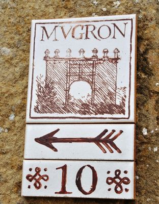 Panneau Parcours du Patrimoine - Mugron