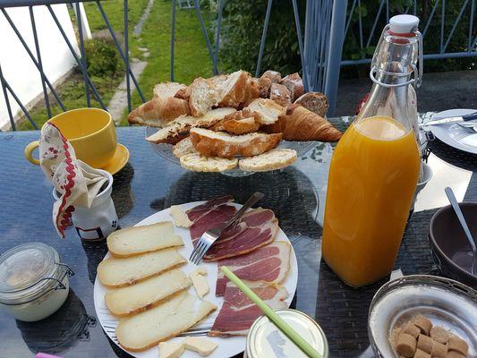 Petit déjeuner oriental