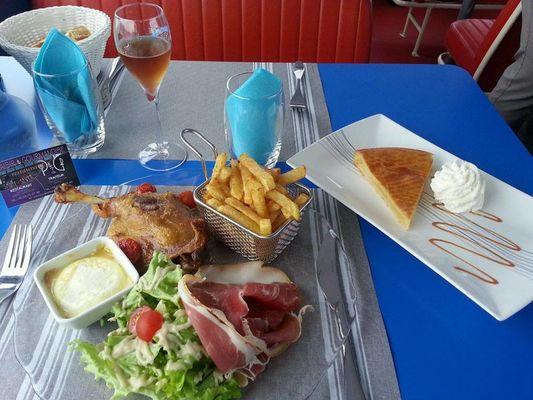 Plaisir et Gourmandise Assiette de Pays