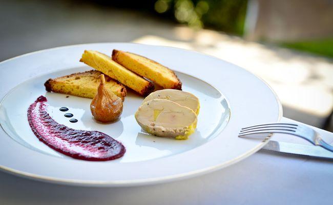 Restaurant Chez Germaine - Foie gras (Christelle Laney) (2)