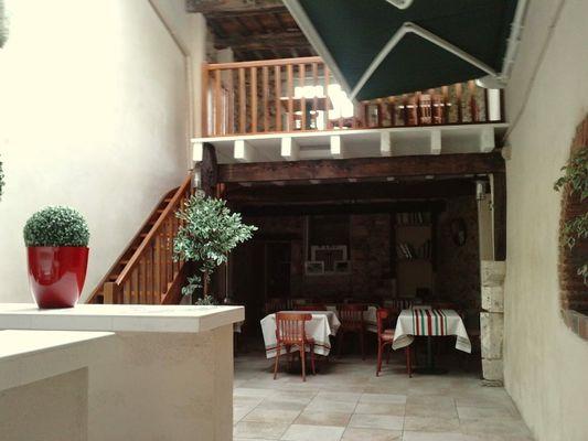 Restaurant Le petit Saint-Séverin en 1024
