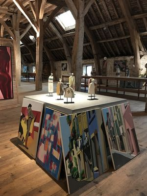 Rouge Garance galerie d'art peintures