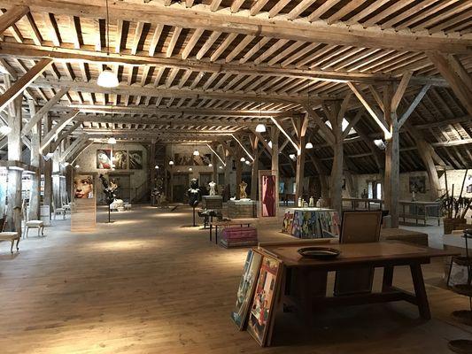 Rouge Garance galerie d'art