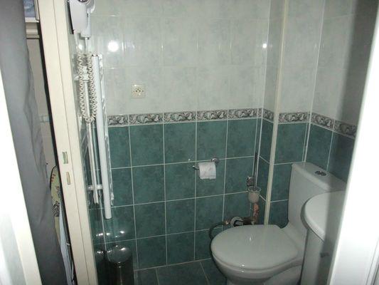 Studio Jossomme - WC dans salle d'eau