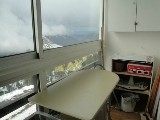 Studio Migné - Balcon fermé