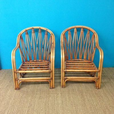 Saint-Sever_Antiquites brocante_O Pecheur de Lune_fauteuils rotin