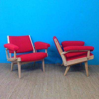 Saint-Sever_Antiquites brocante_O Pecheur de Lune_fauteuils rouge
