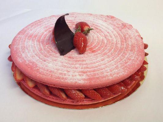 Saint-Sever_Pâtisserie Larrezet_fraisier