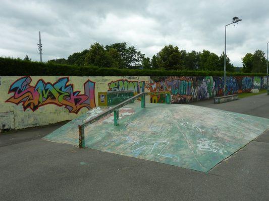 Skate park 4 (Office de Tourisme du Haut Béarn)