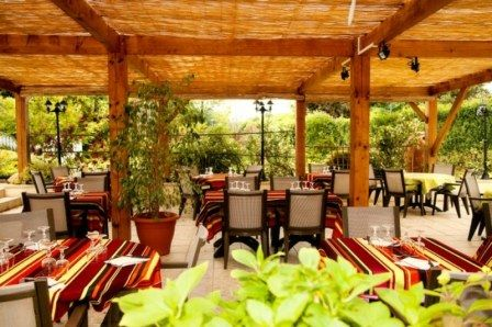 Terasse Restaurant Feu de Bois 2